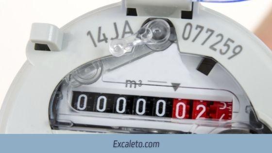 Número de contador de Agua Imagen